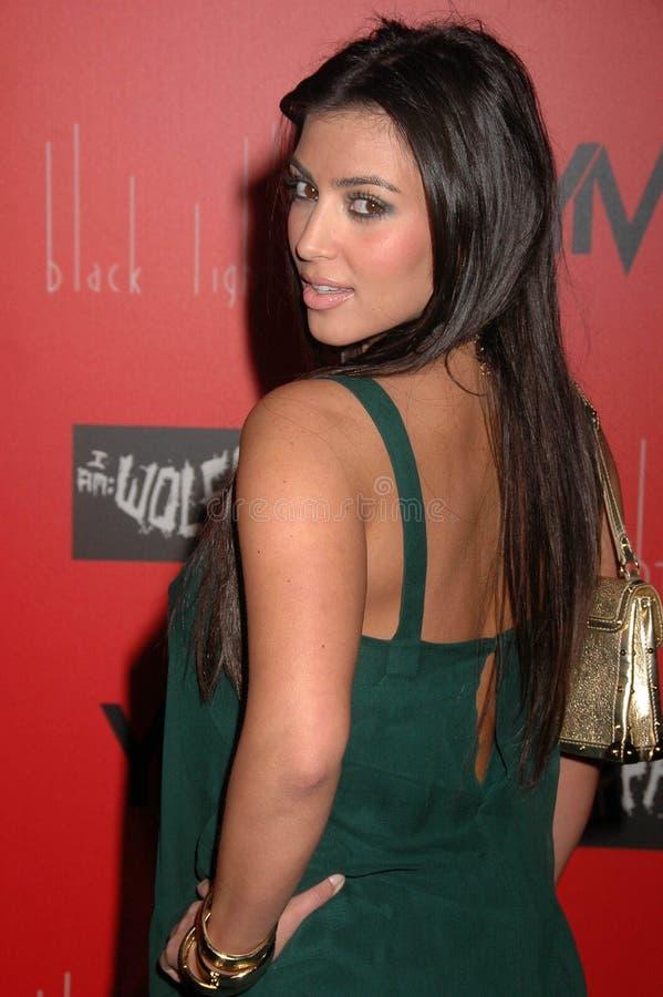 Kim Kardashian, Wes Borland photo stock