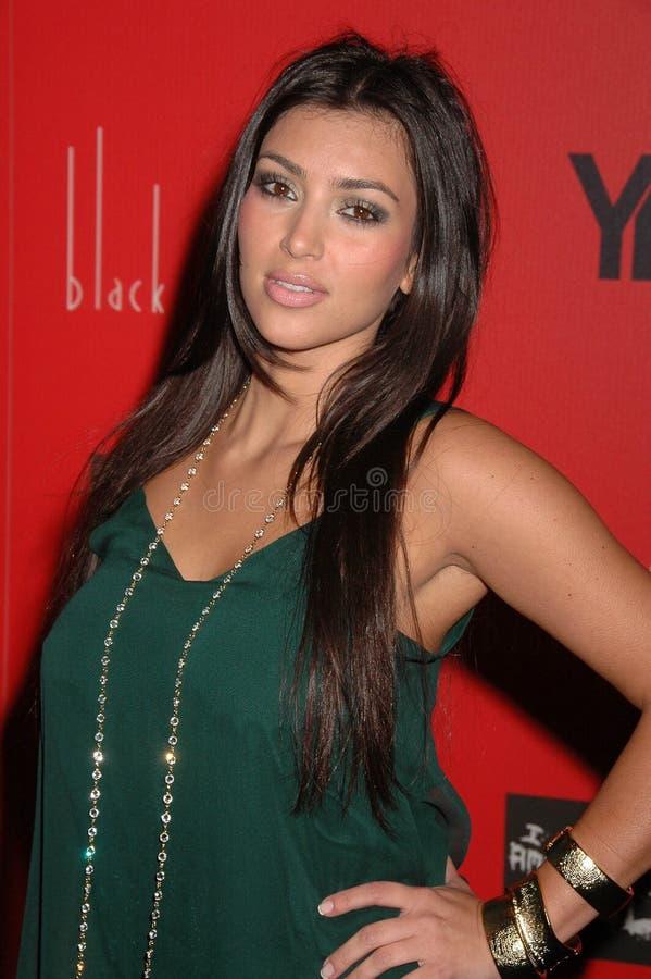 Kim Kardashian, Wes Borland photographie stock libre de droits