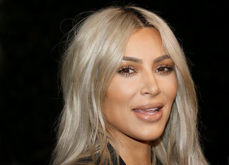 Kim Kardashian West immagine stock libera da diritti