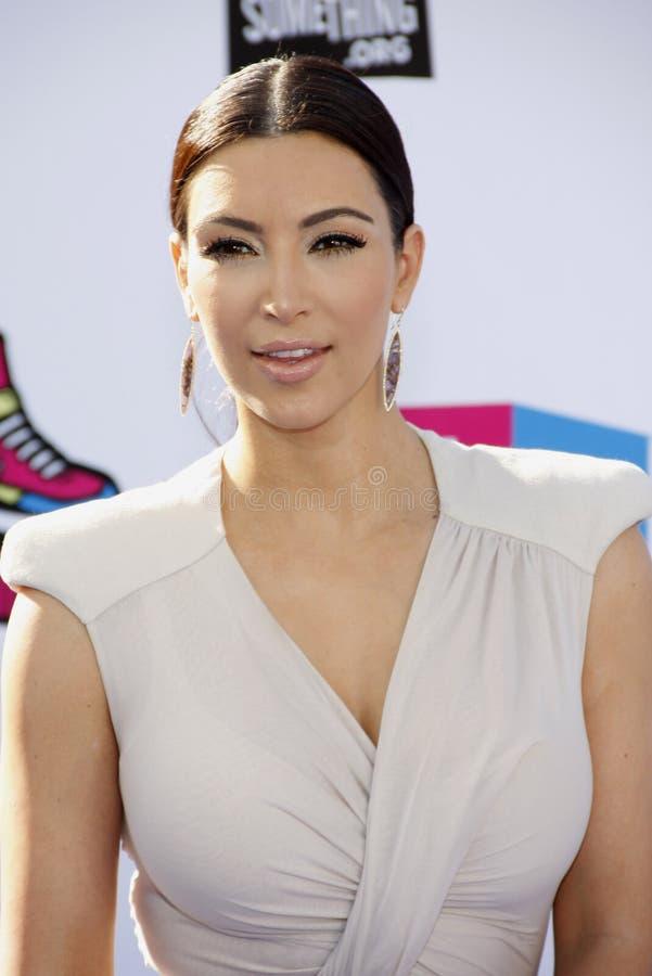 Kim Kardashian West foto de stock royalty free