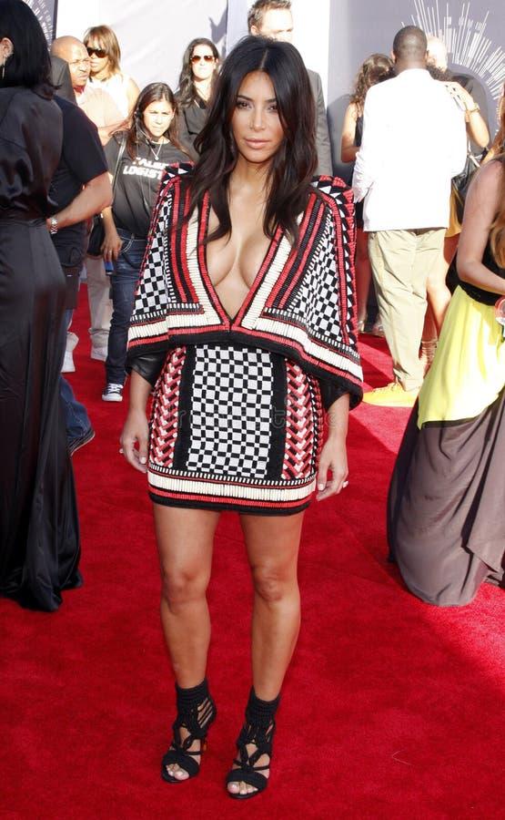 Kim Kardashian West imagens de stock royalty free