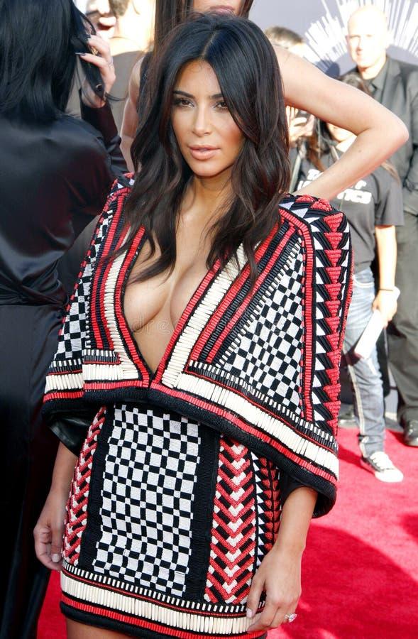 Kim Kardashian West foto de stock