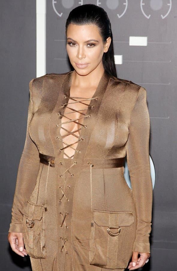 Kim Kardashian West imagem de stock royalty free