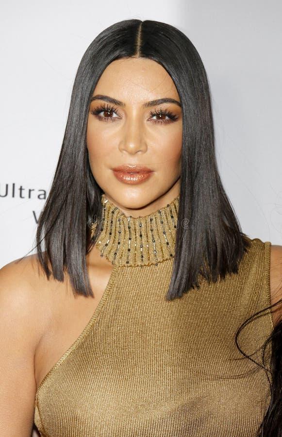 Kim Kardashian West lizenzfreie stockbilder