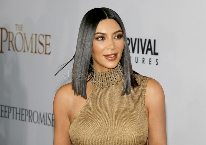 Kim Kardashian West fotos de stock