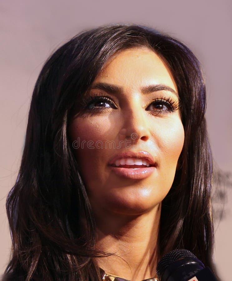 Kim Kardasian photo libre de droits