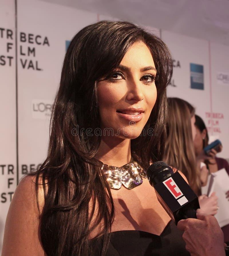 Kim Kardasian images libres de droits