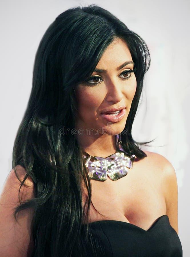Kim Kardasian foto de stock royalty free