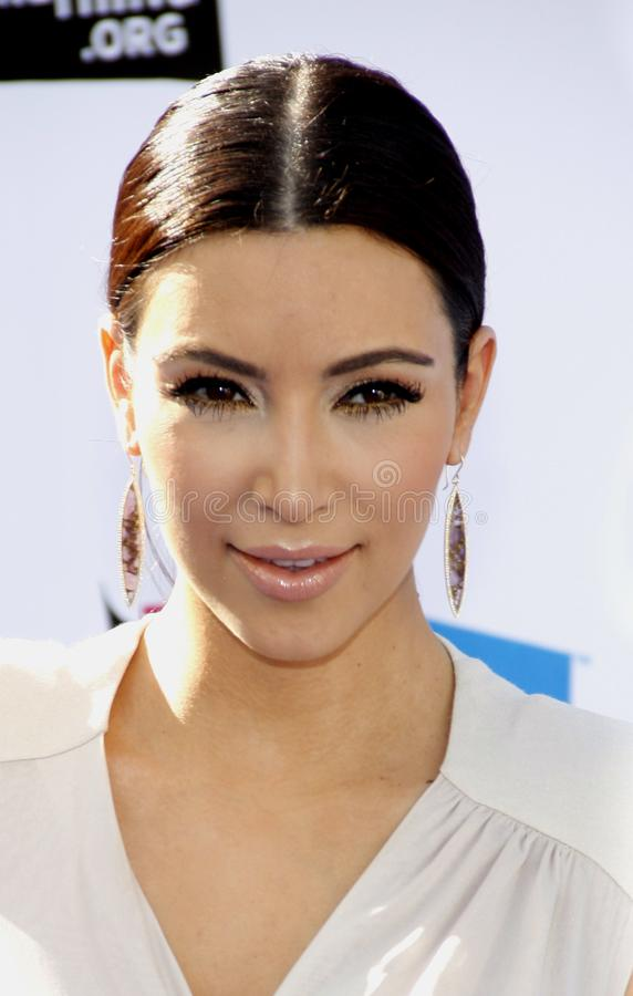 Kim Kardasian photo stock