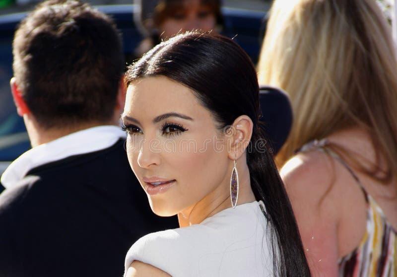 Kim Kardasian imagem de stock