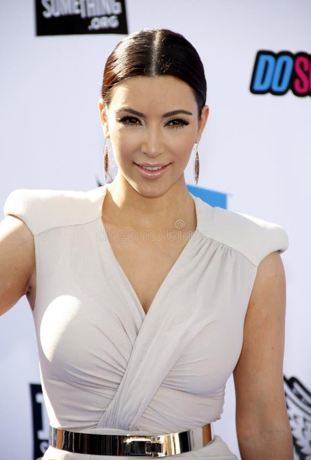 Kim Kardasian fotografia de stock