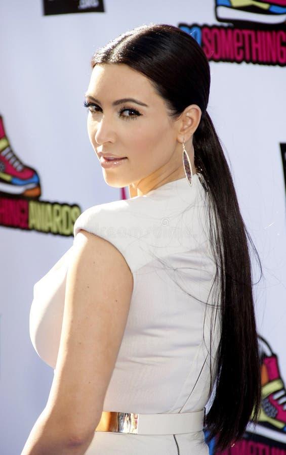 Kim Kardasian imagem de stock royalty free