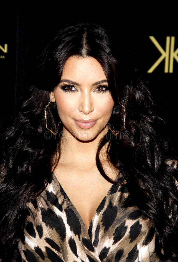 Kim Kardasian foto de stock