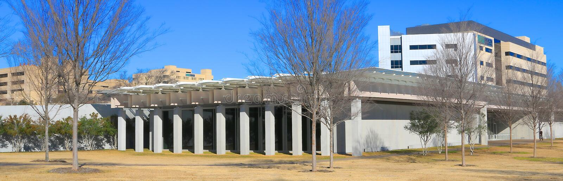 Kimball muzeum sztuki Fort Worth, Teksas obrazy stock