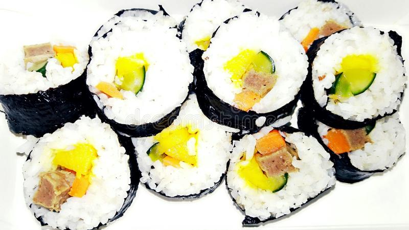 Kimbap photographie stock