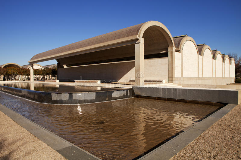Kimbell Art Museum - Fort Worth, Tejas foto de archivo