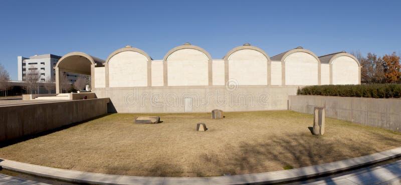 Kimbell Art Museum - Fort Worth, Texas arkivfoton