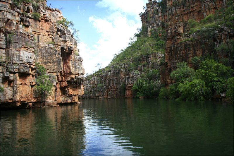 Kimberley Gorge royalty free stock photos