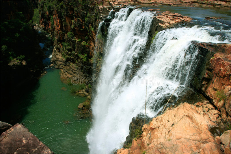 Kimberley Waterfall stock photography