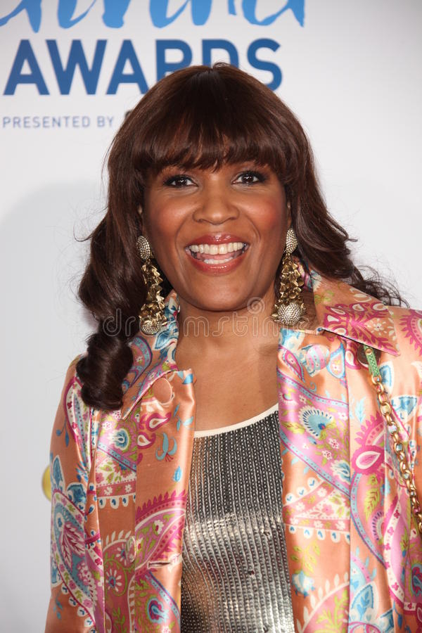 Kimberly Davis. LOS ANGELES - DEC 9: Kimberly Davis arrives at the 2011 American Giving Awards at Dorothy Chandler Pavilion on December 9, 2011 in Los Angeles royalty free stock photography