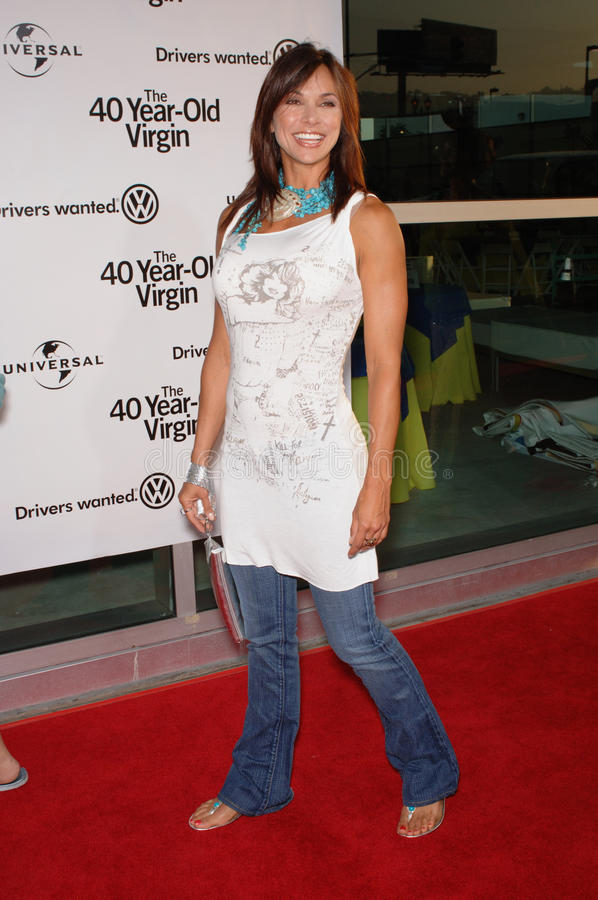Kimberly Page. Actress KIMBERLY PAGE at the world premiere of 40 Year-Old Virgin, at the Arclight Theatre, Hollywood. August 11, 2005 Los Angeles, CA 2005 Paul stock photography