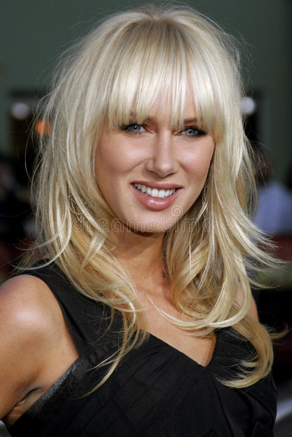 Kimberly Stewart foto de stock