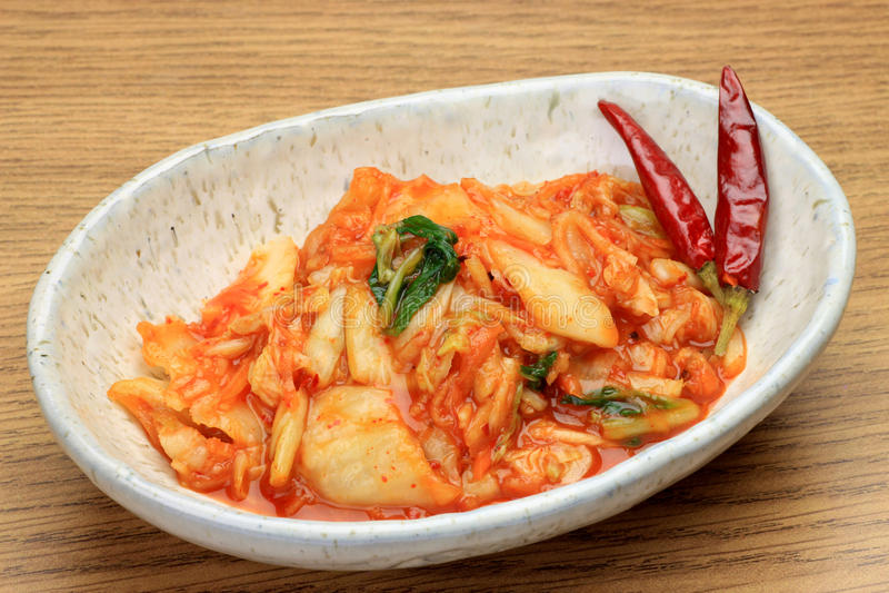 kimchi στοκ εικόνα