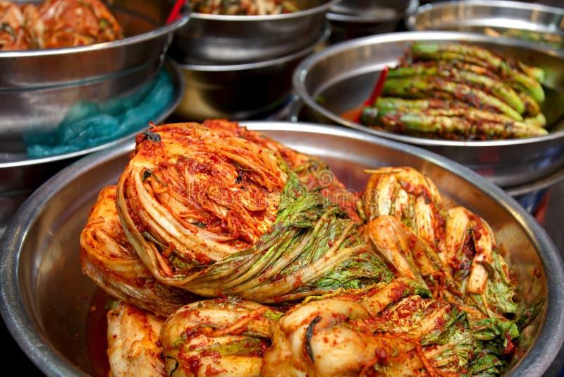 Kimchi στοκ εικόνες με δικαίωμα ελεύθερης χρήσης
