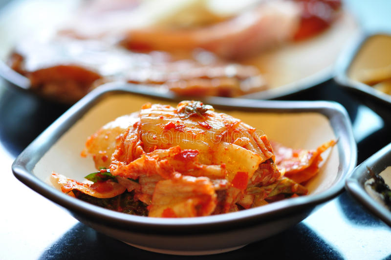 Kimchi photographie stock