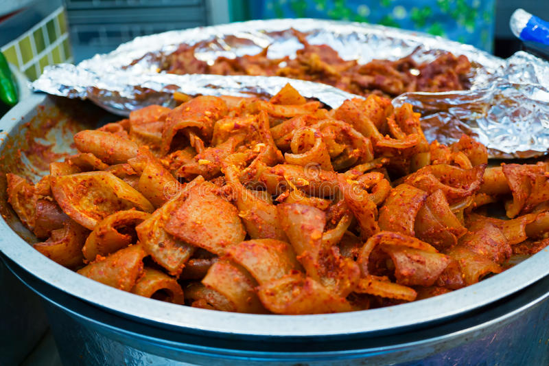 Kimchi royalty-vrije stock foto's