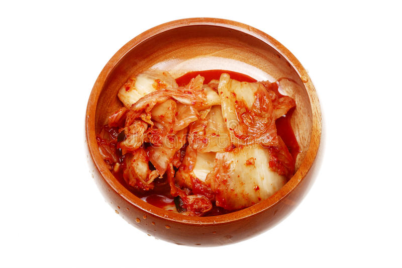 Kimchi coreano autentico fotografia stock libera da diritti