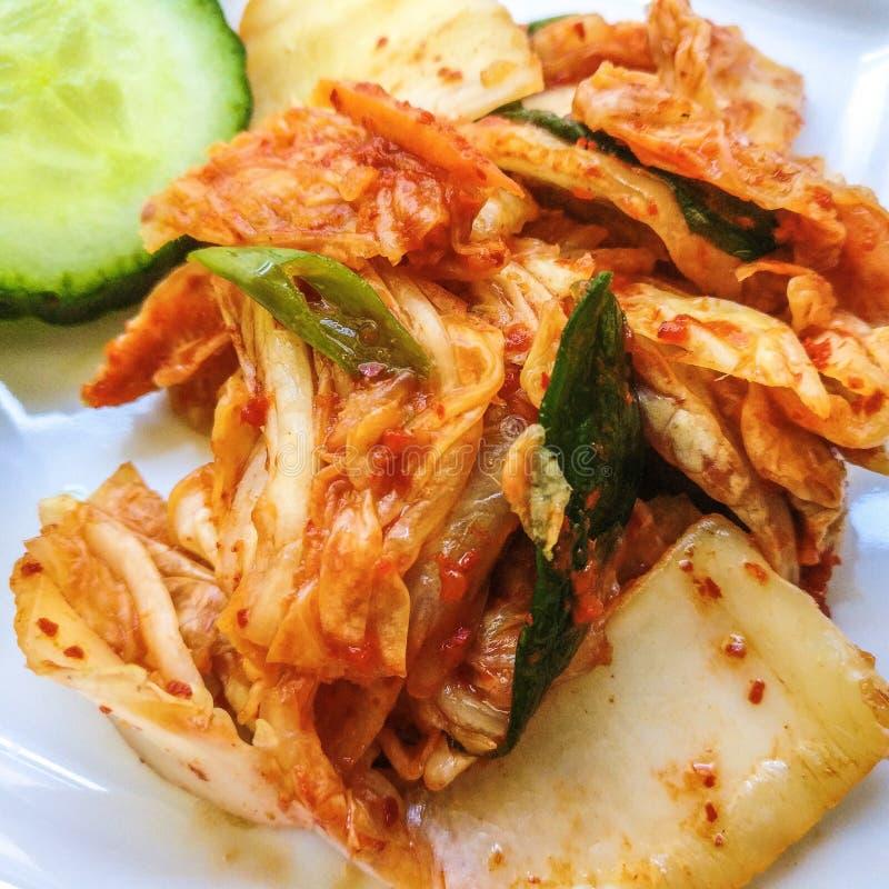Kimchi fresco imagens de stock