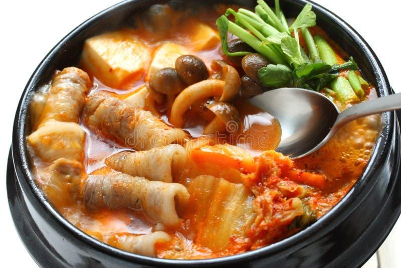 kimchi gulasz zdjęcia stock