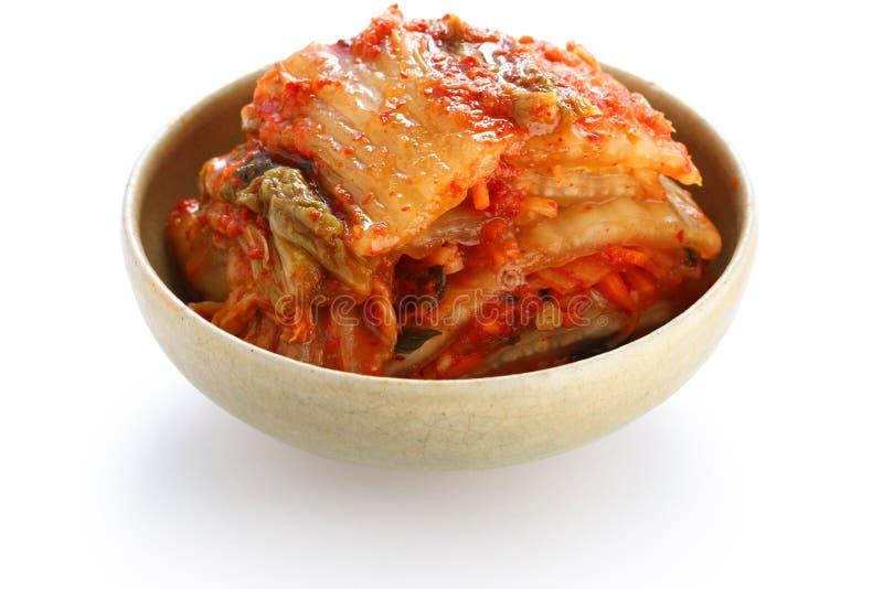 Kimchi, Koreaans voedsel stock afbeelding