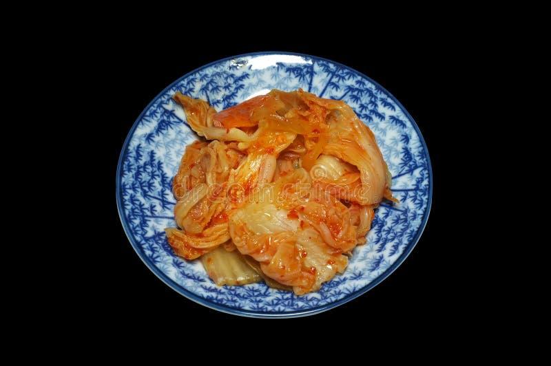 Kimchi, salada vegetal coreana fotografia de stock