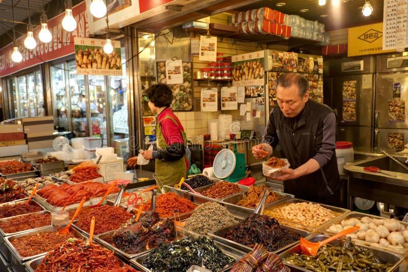 Kimchi sudcoreano fotografia stock
