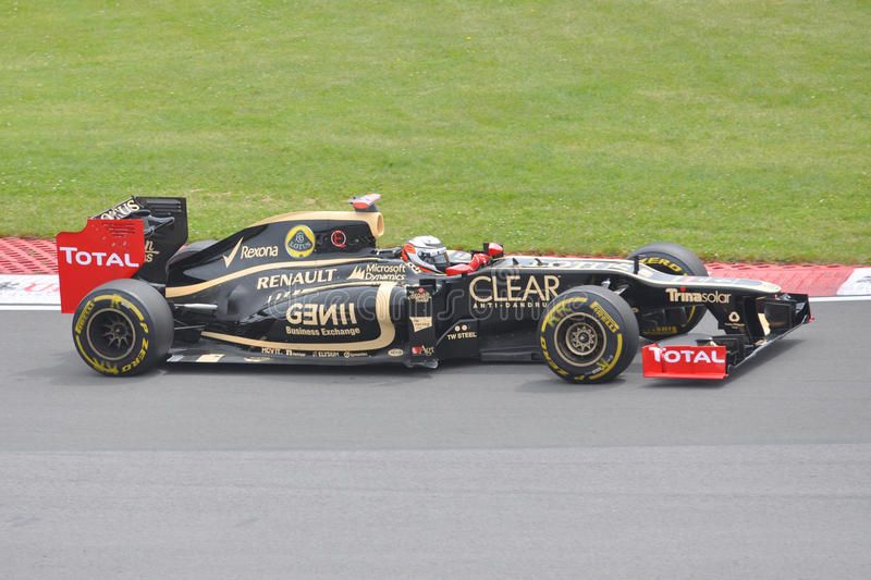 Kimi Raikkonen in 2012 F1 kanadisches großartiges Prix stockbilder