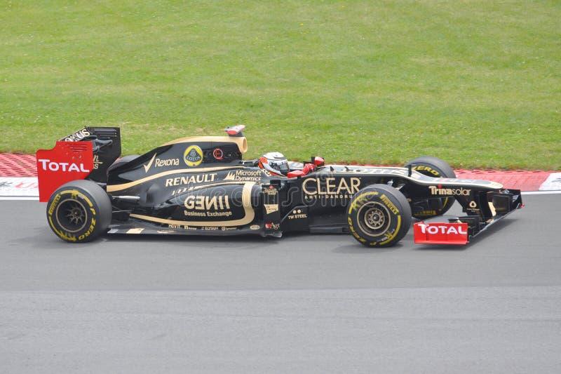 Kimi Raikkonen nos 2012 F1 Prix grande canadense imagens de stock