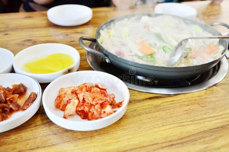 Kimji. Korean food styles in soul royalty free stock photo