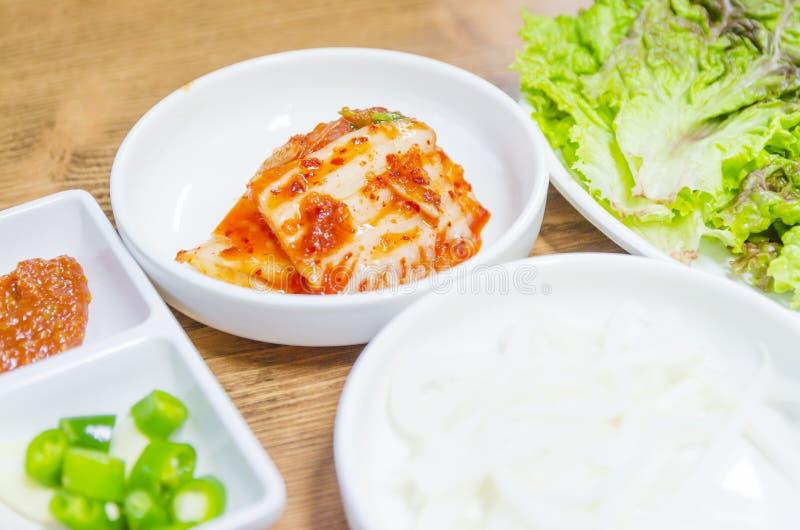 Kimji. Korean food styles in soul royalty free stock images
