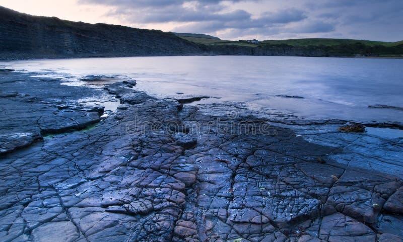 Download Kimmeridge Bay Sunrise Landscape, Dorset England Stock Photo - Image of rocks, coast: 26204598
