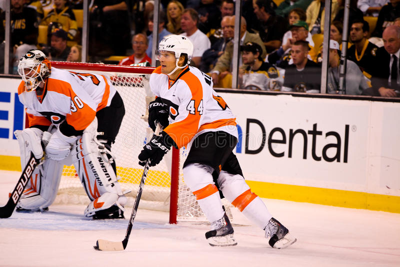 Kimmo Timonen Philadelphia Flyers. Philadelphia Flyers defenseman Kimmo Timonen #44 stock images