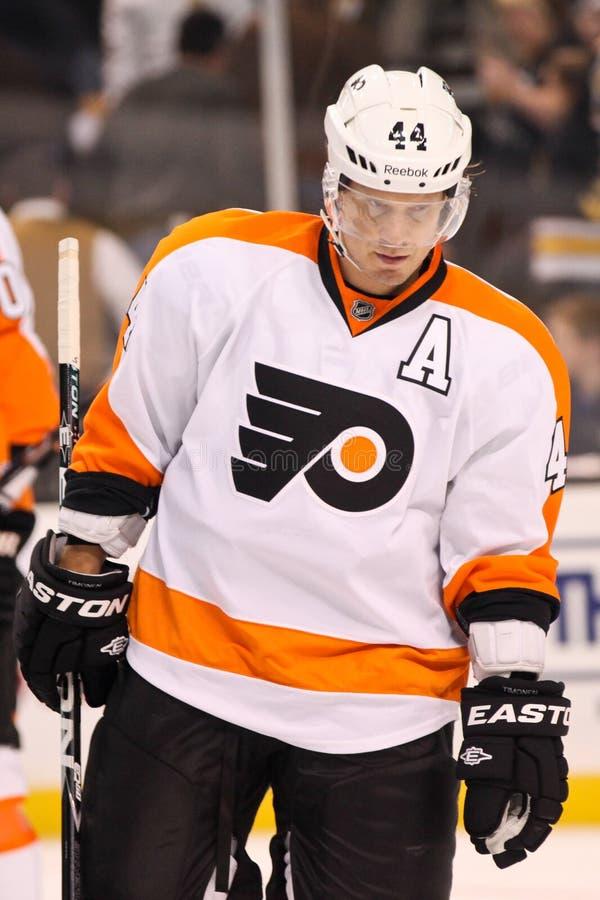 Kimmo Timonen Philadelphia Flyers. Philadelphia Flyers defenseman Kimmo Timonen #44 stock image