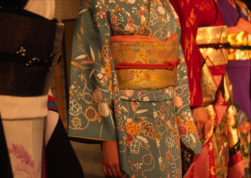 kimono royaltyfri foto