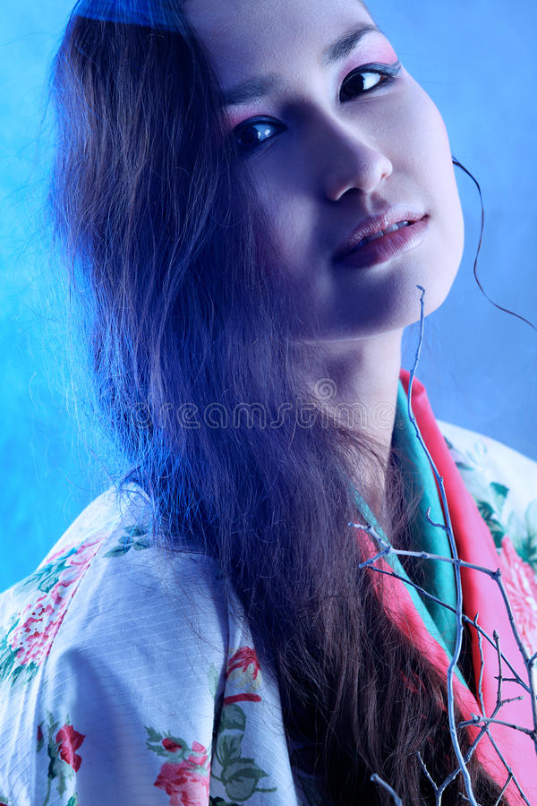 kimono zdjęcie royalty free