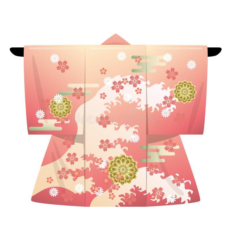 Kimono stock illustration