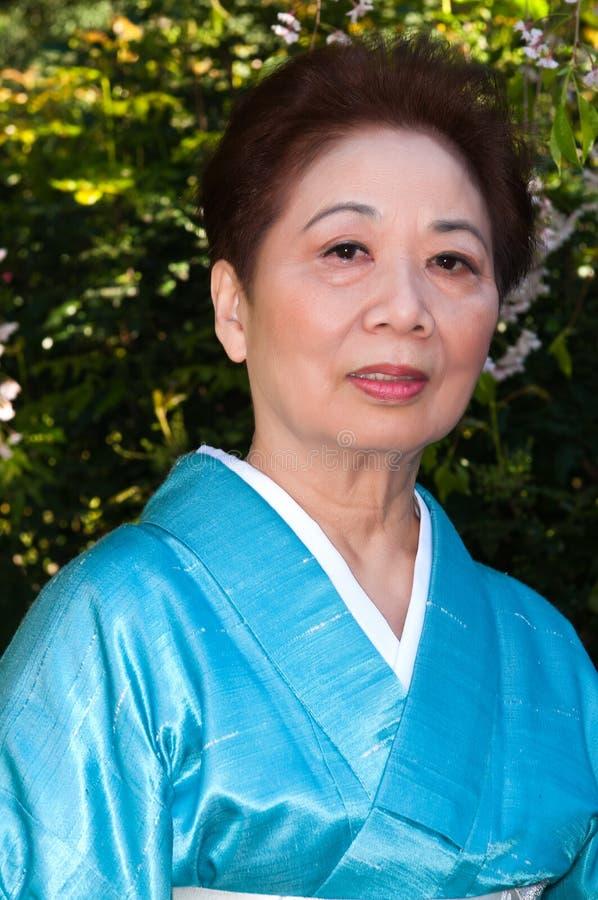 kimono royaltyfri bild