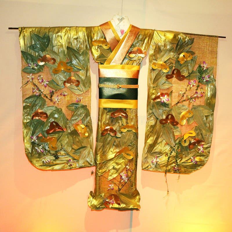 kimono arkivfoton