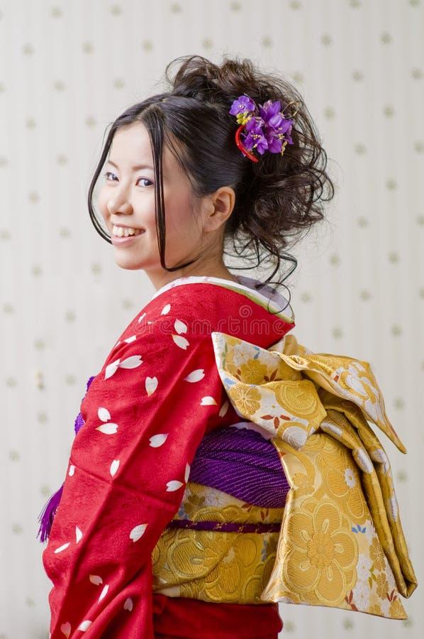 Kimono royaltyfria foton