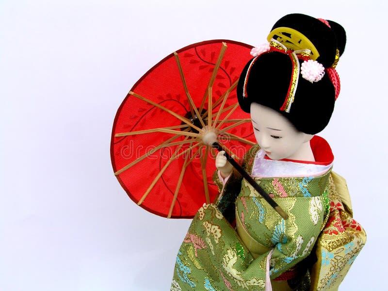 Kimono giapponese immagine stock